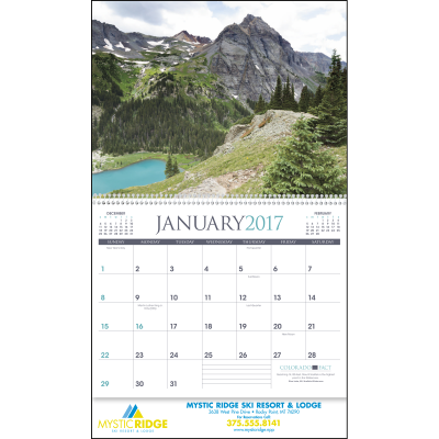 Picture of Rocky Mountains Wall Calendar