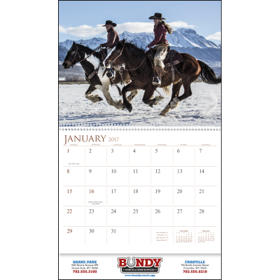 Picture of Visions of the West Wall Calendar