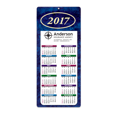 Picture of Marble Envelope-Size Calendar
