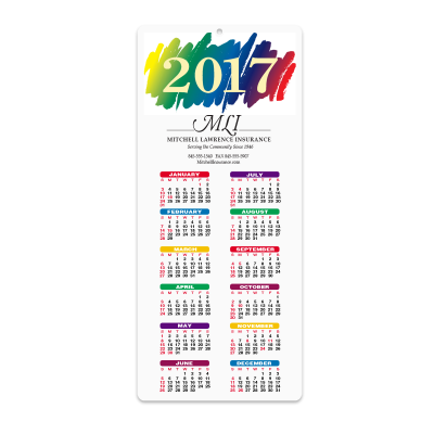 Picture of Paint Envelope-Size Calendar