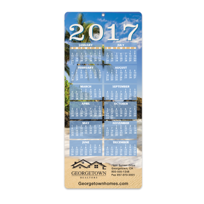 Picture of Tropical Envelope-Size Calendar