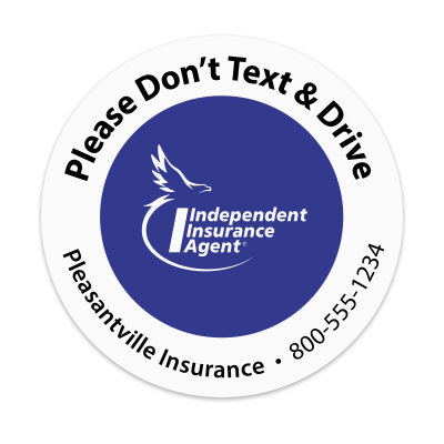 Picture of IIA - Don't Text & Drive  Sticker