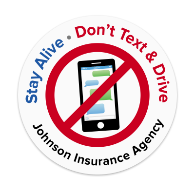 Picture of Stay Alive - Don't Text & Drive Sticker