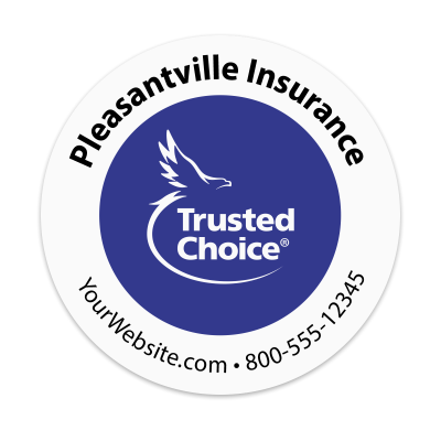 Picture of Trusted Choice - Insurance Agency Sticker