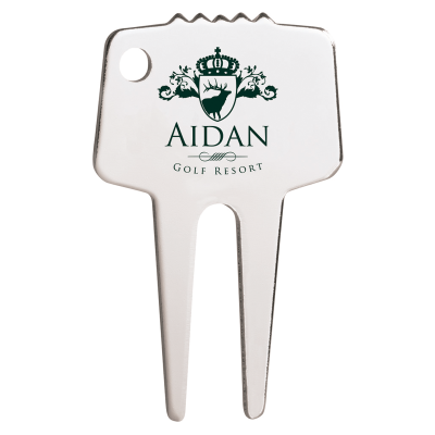 Picture of Silver-Tone Custom Divot Repair Tool