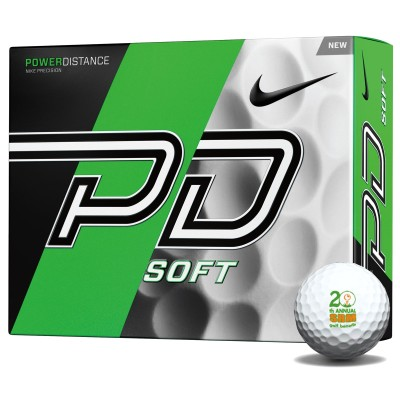 Nike PD soft golf balls
