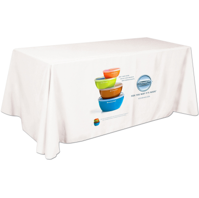 Picture of 6 Foot Full Color Table Cover