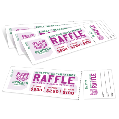 Picture of Custom Raffle Tickets