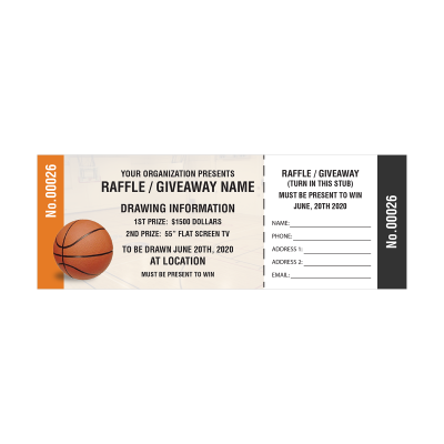 Picture of Basketball Fundraiser Tickets