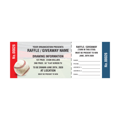 Picture of Baseball Fundraiser Tickets