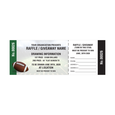 Picture of Football Fundraiser Tickets