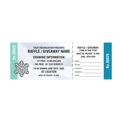 Picture of Winter Raffle Tickets
