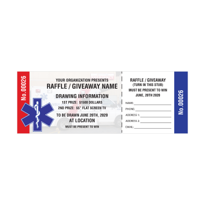 Picture of EMT Raffle Tickets