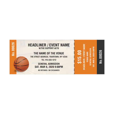 Picture of Basketball Event Tickets