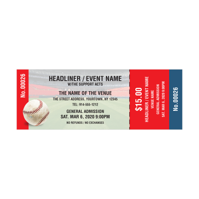 Picture of Baseball Event Tickets