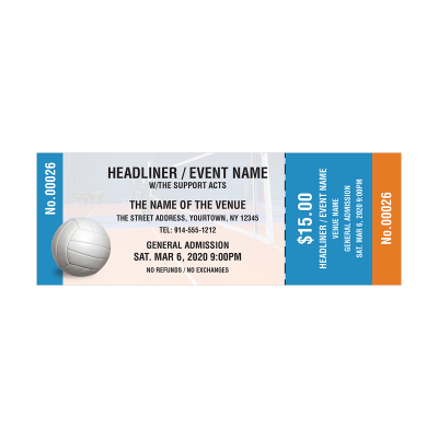 Picture of Volleyball Event Tickets