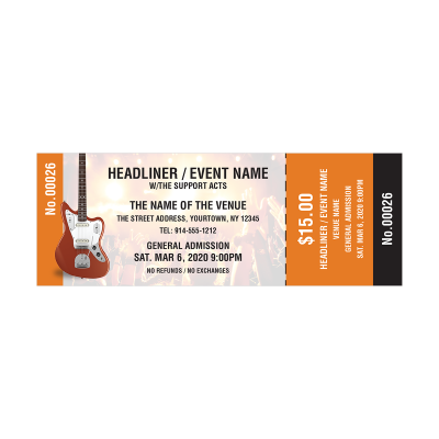 Picture of Music Event Tickets