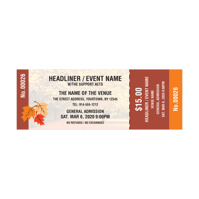 Picture of Fall Event Tickets