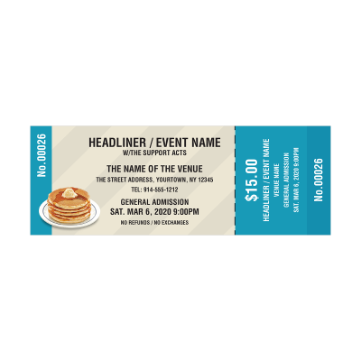 Picture of Pancakes Event Tickets