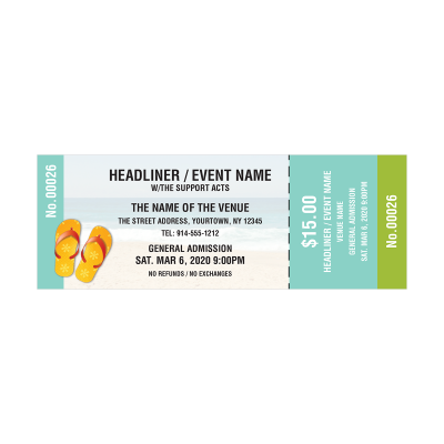Picture of Beach Event Tickets