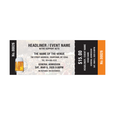 Picture of Beer Event Tickets