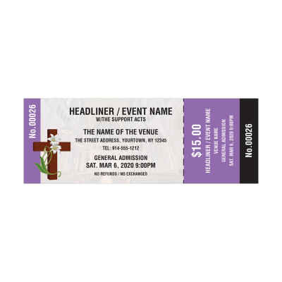 Picture of Religious Event Tickets