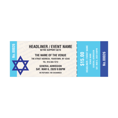 Picture of Jewish Event Tickets