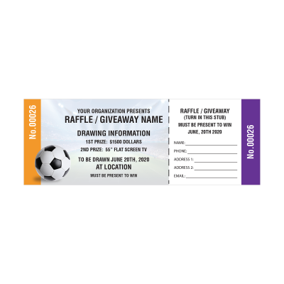 Picture of Soccer Fundraiser Tickets