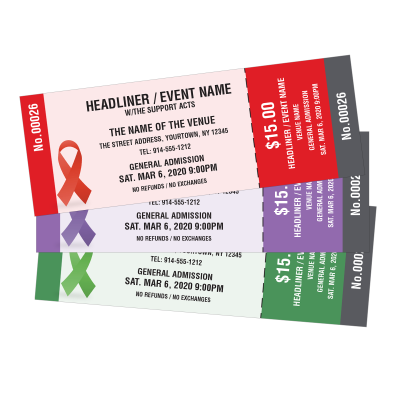 Picture of Awareness Ribbon Event Tickets