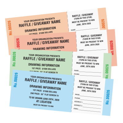 Picture of Generic Raffle Tickets