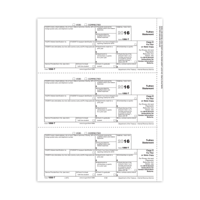 Picture of Form 1098-T - Copy C Filer (5182)
