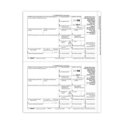 Picture of Form 1099-R - Copy 2 Recipient (5142)