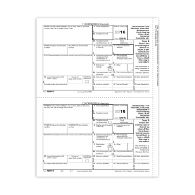 Picture of Form 1099-R - Copy B Recipient (5141)