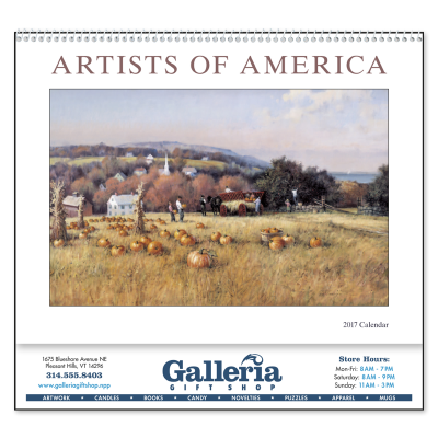Picture of Artists of America Wall Calendar