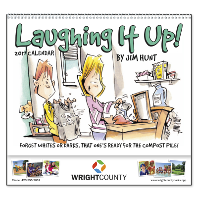 Picture of Laughing It Up Wall Calendar - Spiral