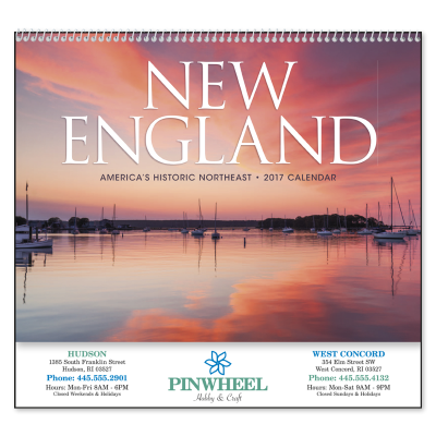 Picture of New England Tour Wall Calendar