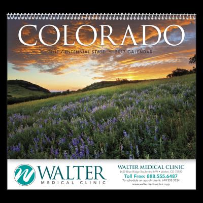 Picture of Colorado Wall Calendar