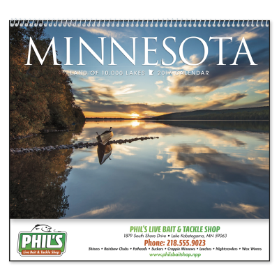 Picture of Minnesota State Wall Calendar