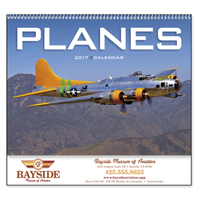 Picture of Planes Wall Calendar