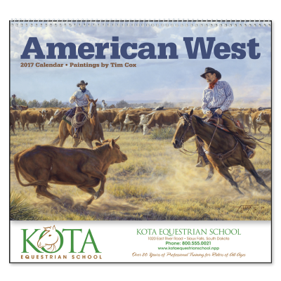 Picture of American West Wall Calendar