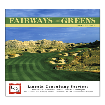 Picture of Fairways & Greens Wall Calendar