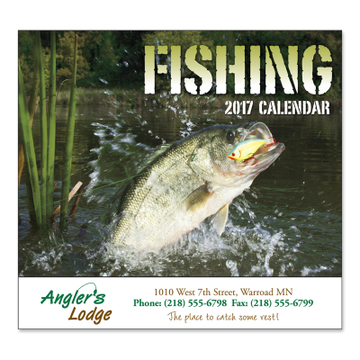 Picture of Fishing Wall Calendar