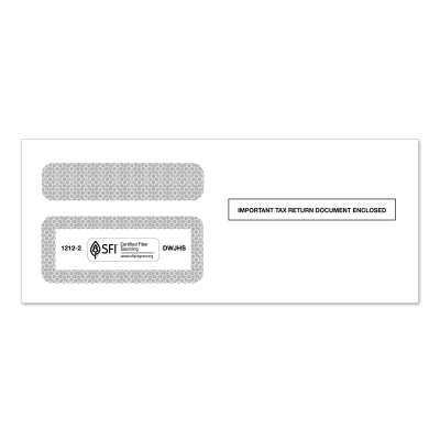 Picture of 1099 Double Window Tax Envelope (1212)