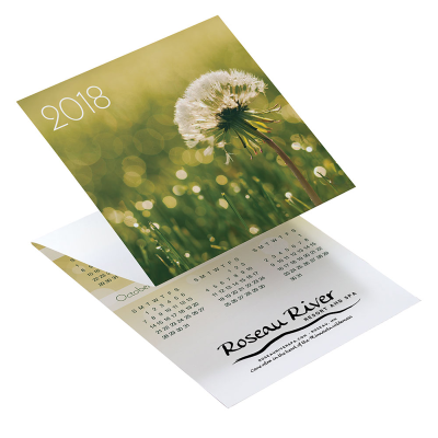 Picture of Peace Tri-Fold Greeting Card Calendar