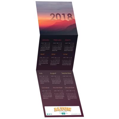 Picture of Landscape Tri-Fold Greeting Card Calendar