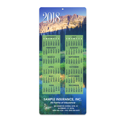 Picture of Mountains Envelope-Size Calendar