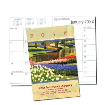 Picture of Spring Flowers Monthly Pocket Planner (CB28)