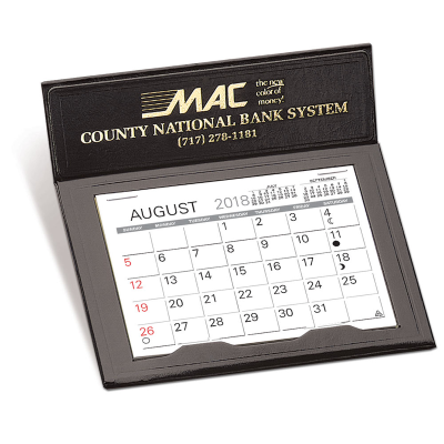 Picture of Black Jewel Desk Calendar