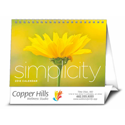 Picture of Simplicity Large Desk Calendar