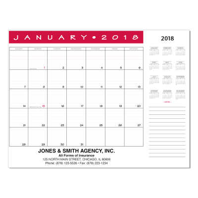Picture of Jumbo Desk Pad Calendar